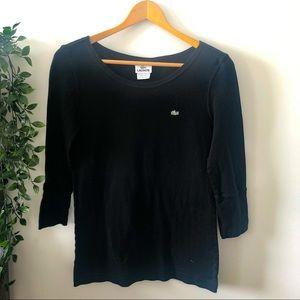 Lacoste Quarter Length Sleeved Shirt